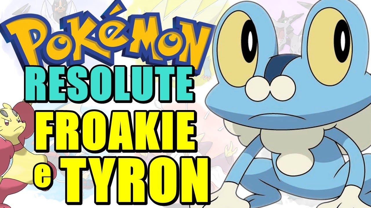 Pokémon Resolute (Detonado - Parte 35) - Froakie, Mienfoo