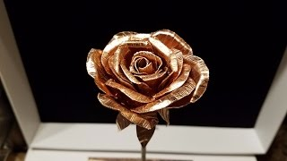 DIY Metal Rose (Copper)