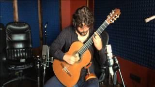 Guitar Bach Cello Suite 1 BWV 1007 Prelude Camilo Giraldo