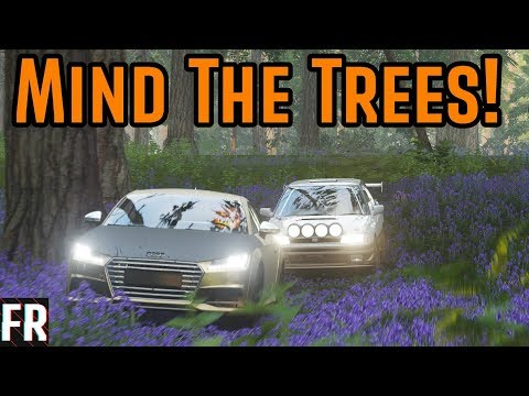 Forza Horizon 4 - Custom Courses -  Mind The Trees! thumbnail