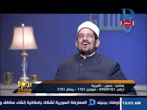 العاشرة مساء  انفعال الدكتور على الأزهرى على نائب برلمانى بعد وصف الإسلام  بالحداثة