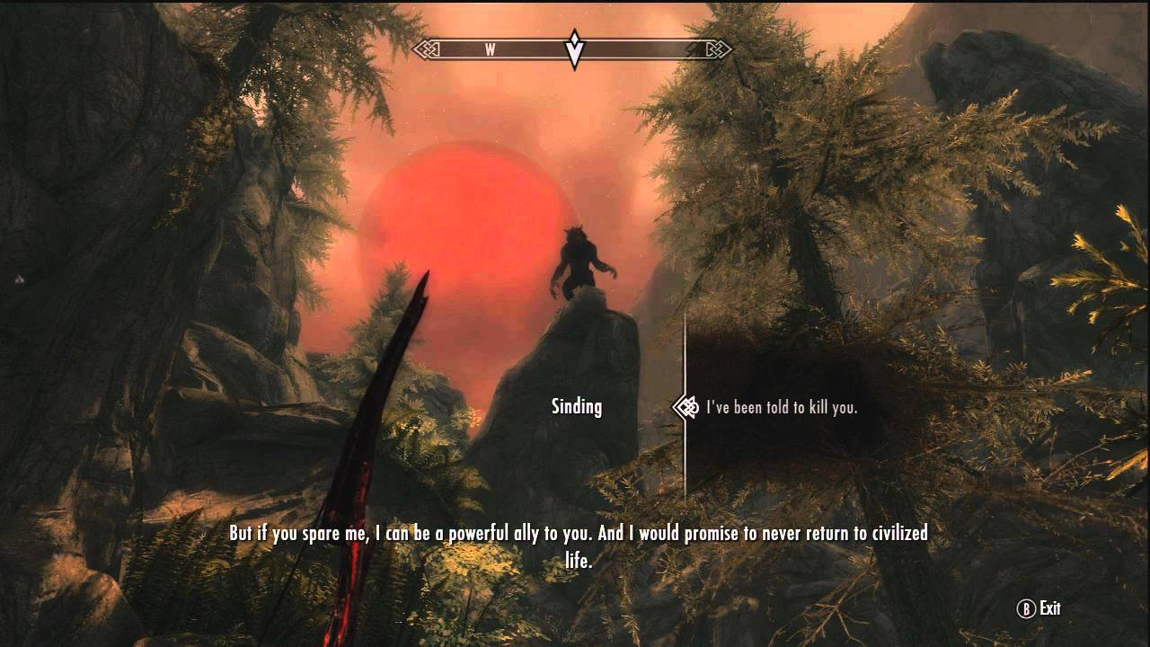 How to get the Ring of Hircine and Saviors Hide (Skyrim)
