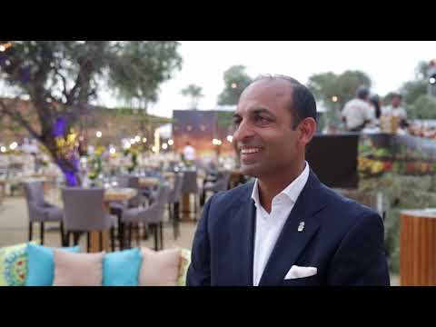 Amit Arora, general manager, Ritz Carlton Ras Al Khaimah, Al Wadi Desert