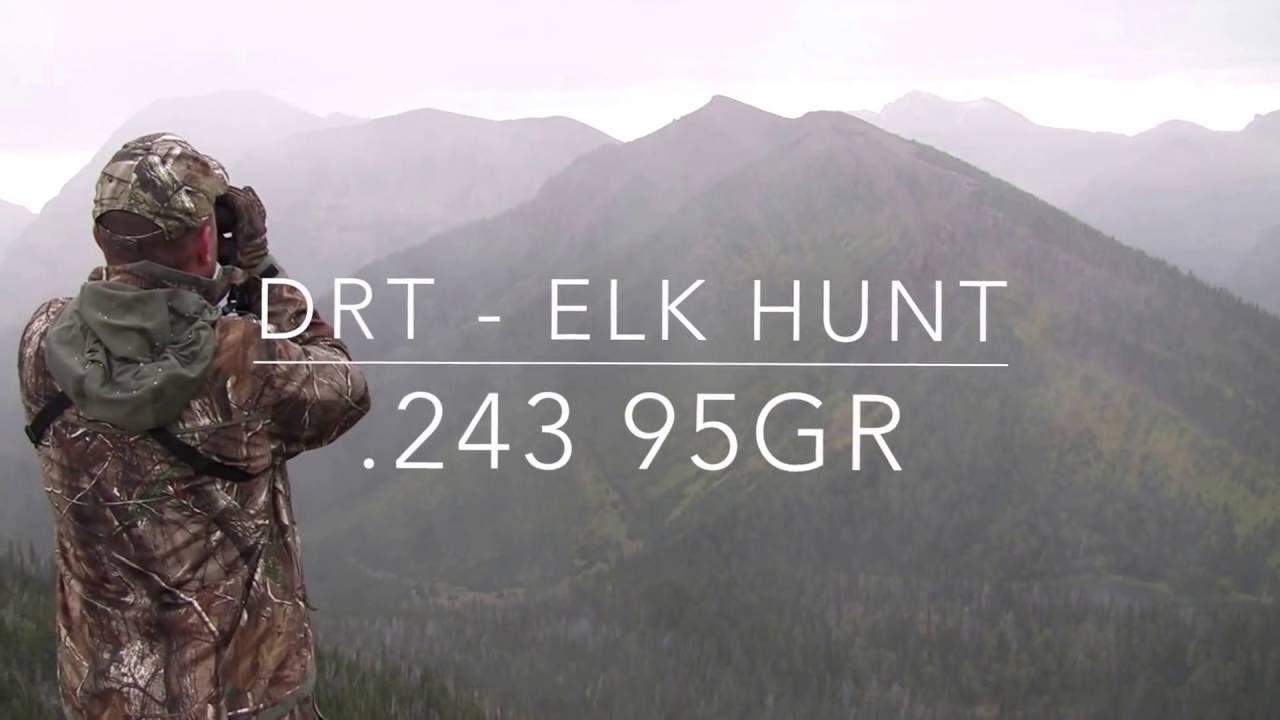 DRT Ammo  243 95gr Elk Hunt