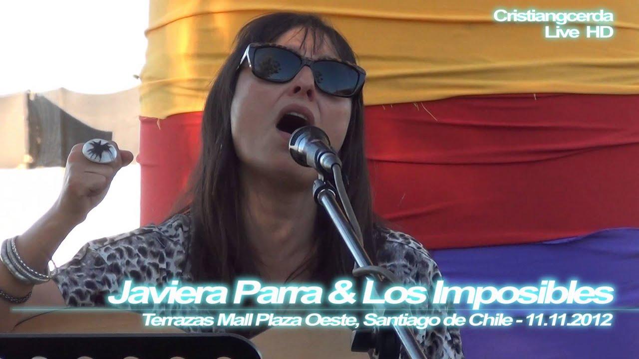 Javiera Parra Los Imposibles Respiro Terrazas Mall Plaza Oeste Stgo De Chile 11 11 2012