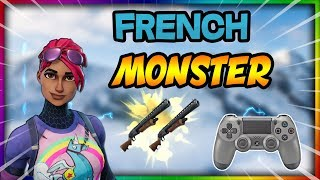 "COMPIL FORTNITE - ""French Monster"" Build Fight On Fortnite Battle royale Ps4 !"