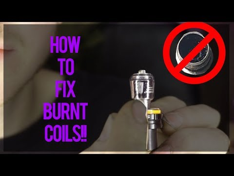 HOW TO FIX BURNT COILS FREE!!
