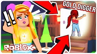 A Gold Digger Kidnapped My Legendary Pet.. What She Did Will Shock You.. Adopt Me Roblox Roleplay