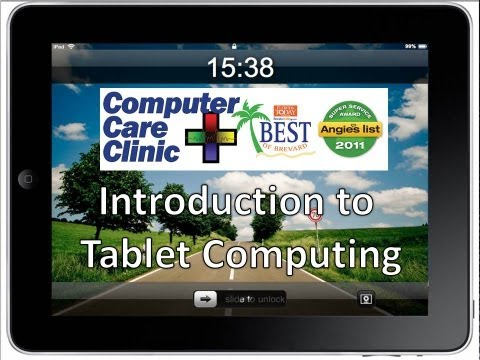 Introduction to Tablet Computers