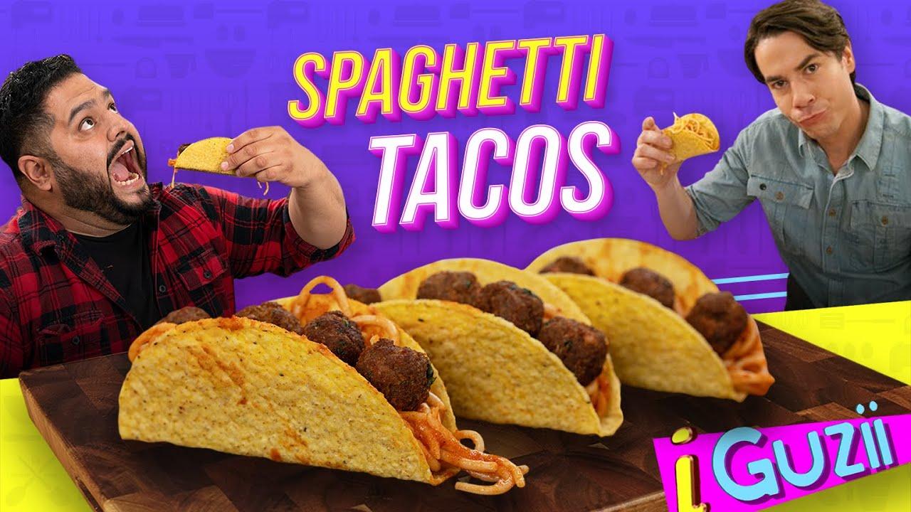 Spaghetti Tacos de iCarly | El Guzii