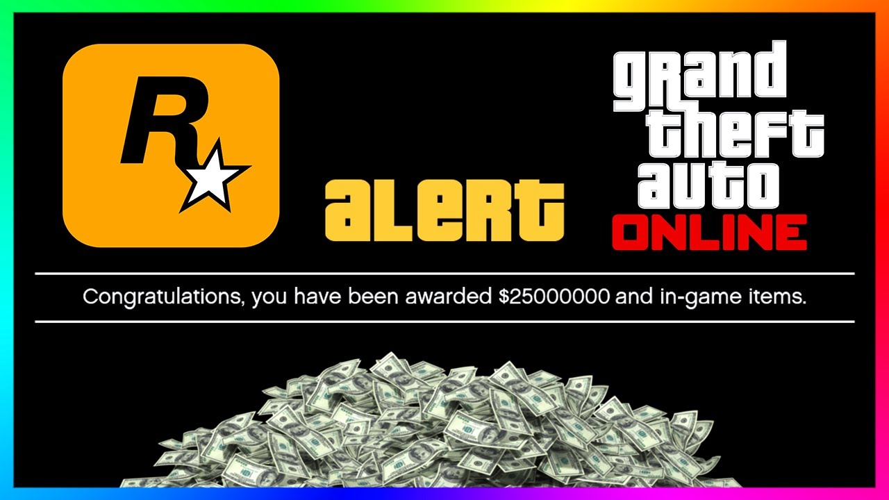 FREE Money Has Arrived For Players In GTA 5 Online - Rockstar Games Planning Something WEIRD & M
