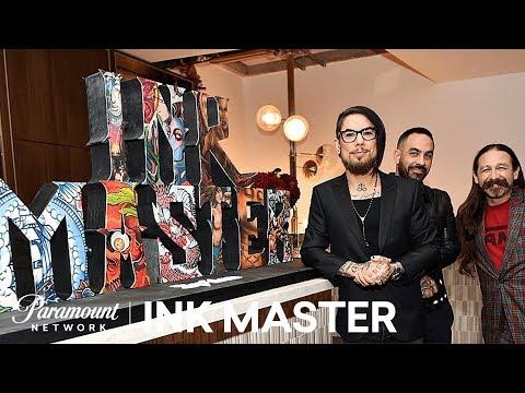 Ink Master Stars Celebrate 100 Episodes