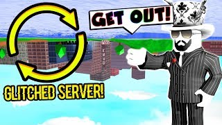 Asimo Won't Forgive Me After Joining A GLITCHED SERVER.. (Roblox Jailbreak)