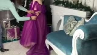 Дефиле в детской школе моделей в Астане Оразалиной Гульнары