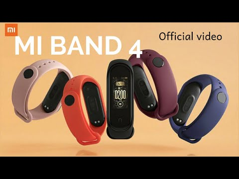 Xiaomi Mi Band 4 Official video after china launch.