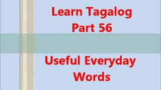 Learn Tagalog - Part 55, A Short Story - Tagalog Made Easy