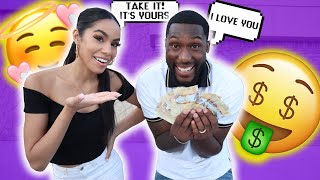 Giving My Boyfriend $100 Every Time He Says MY NAME!