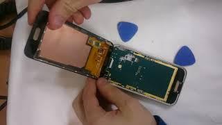 как заменить тачскрин на телефоне Samsung J1
