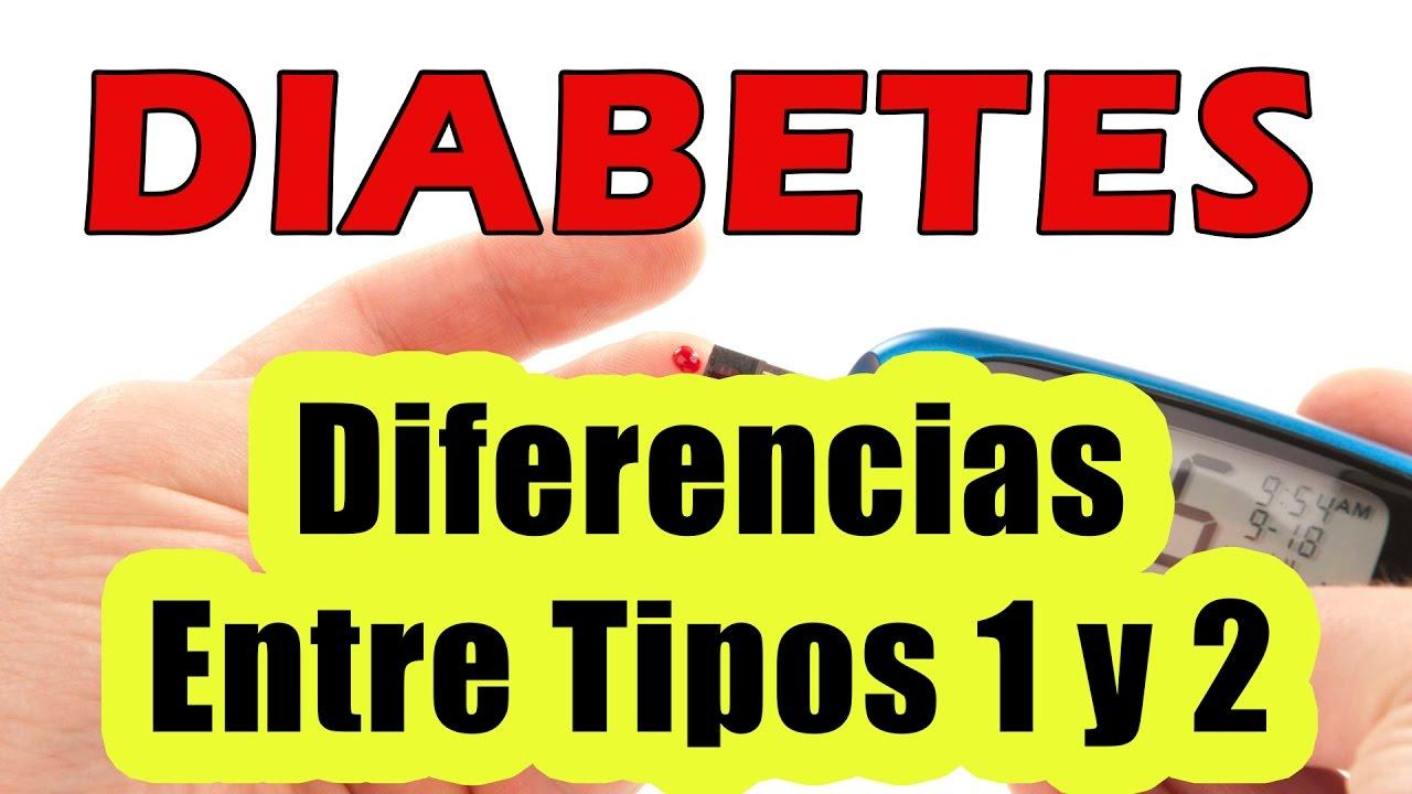 Diferencia Entre Diabetes Tipo 1 y Tipo 2 COMO BAJAR EL