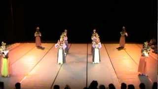 Malaysia Classical Dance PeTA TARI ASWARA 2012 - Tarian Joget Gamelan (Ayak-ayak)