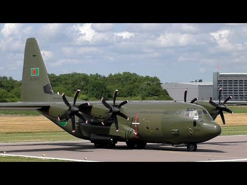 Bangladesh Air Force's First C-130J Takes Off at Cambridge Airport