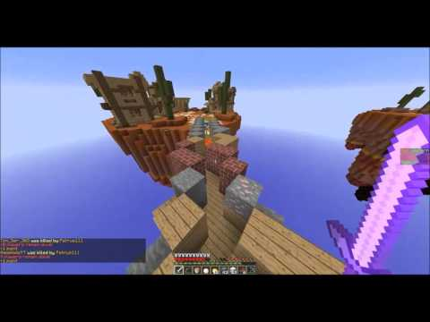 Minecraft - Team Sky Wars Ep2 w/SlicedBanana (Svenska)