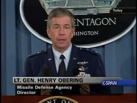 Ground-Based Missile Test 09-01-06 @ Department of Defense Briefing Room