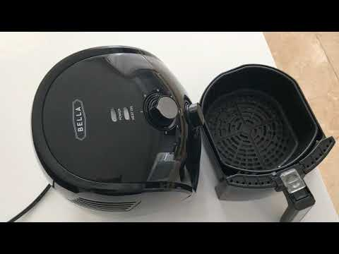 Review of BELLA 2.2LB  Best Convention Air Fryer for Cooking Food Fast, Easy, and Healthy
