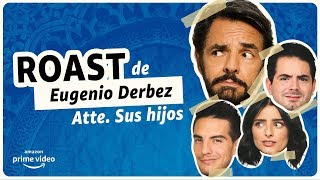 De Viaje con los Derbez - Roast de Eugenio Derbez | Amazon Prime Video