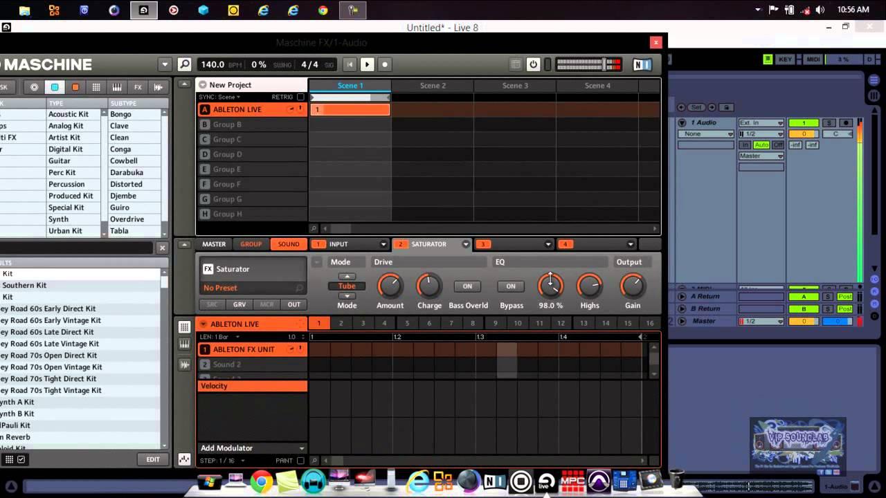 New!! N. I. Maschine tutorial | akai mpc pgm. Import to maschine.