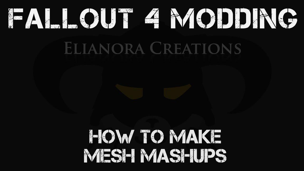 Fallout 4 Modding: Make static mesh mashups (Outfit Studio)