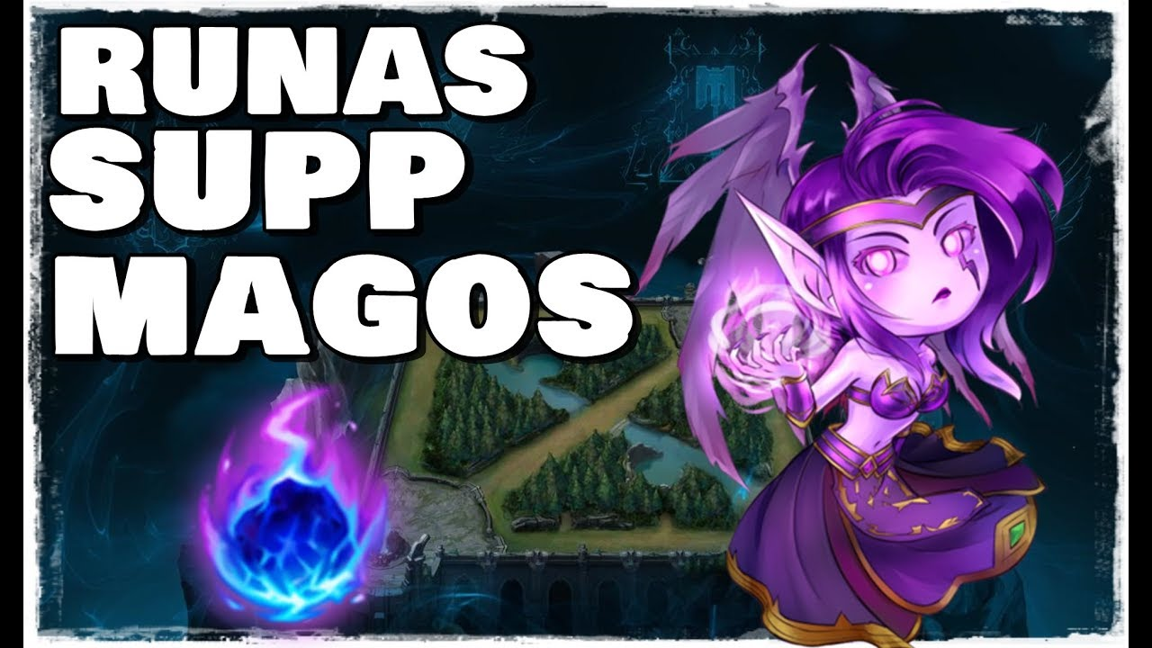 Nuevas Runas S8 Morgana Support Una Supp Impostora 3 Youtube