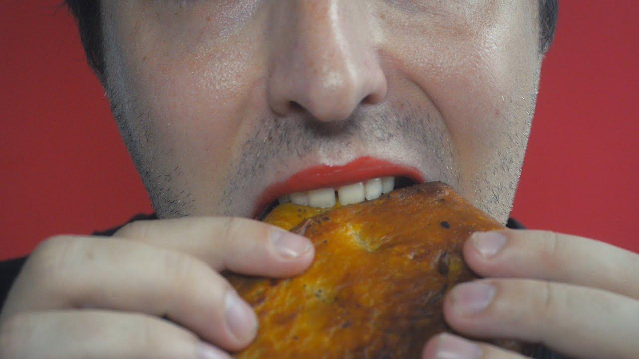 Asmr Eating Chicken Chimichanga 먹방 Youtube
