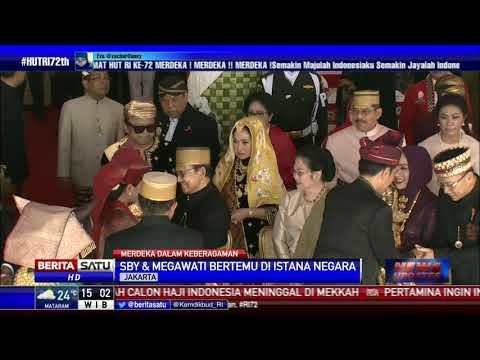Jokowi Ajak Megawati dan SBY Berfoto Bersama di Istana