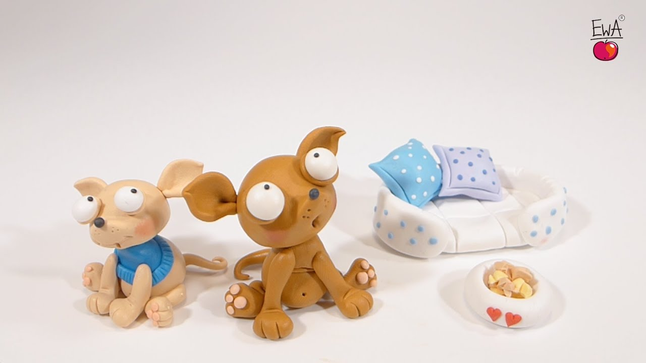 How To Make A Dog Out Of Clay