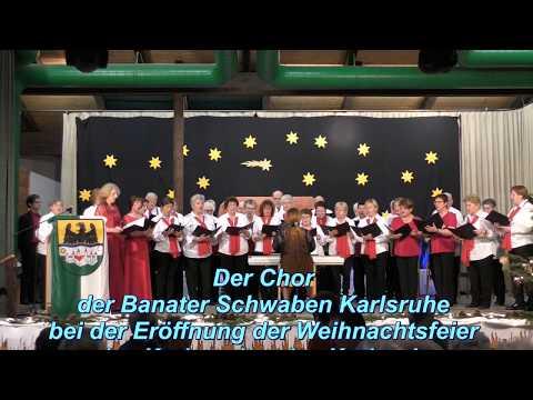 Weihnachtsfeier Karlsruhe.Chor Der Banater Schwaben Karlsruhe Weihnachtsfeier Banater