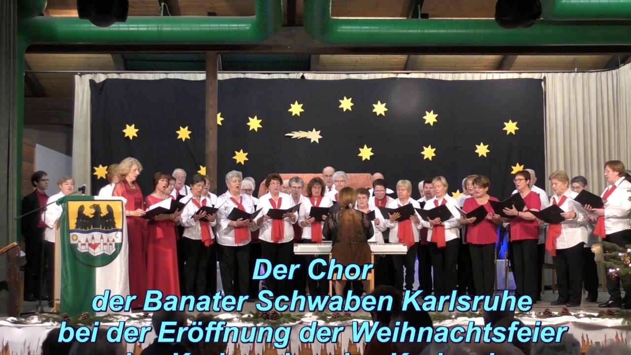 Weihnachtsfeier Karlsruhe.Chor Der Banater Schwaben Karlsruhe Weihnachtsfeier Banater Schwaben Karlsruhe