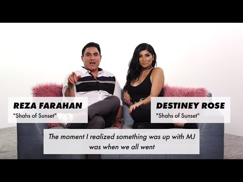The moment 'Shahs of Sunset' stars knew MJ was pregnant