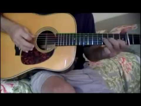 Beginner Bluegrass Flatpicking - G Scales and Right hand Technique
