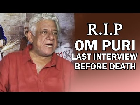 Om Puri's Last Controversial Interview Before Death - MUST WATCH