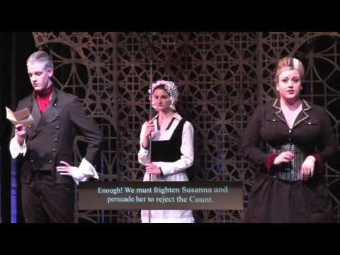 """Colorado State University Opera Production of """"Marriage of Figaro"""" 4-2-16"""