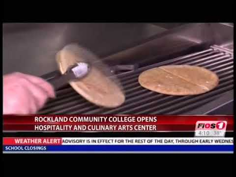 RCC in the News - Rockland Community College Opens Hospitality and Culinary Arts Center, FiOS 1