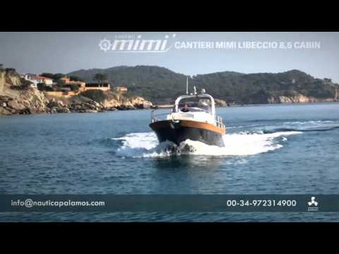 cantieri mimi libeccio 8 5 cabin nautica palamos
