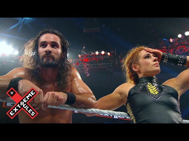 Becky Lynch supports Seth Rollins after he loses the Universal Title: WWE Exclusive, July 14, 2019