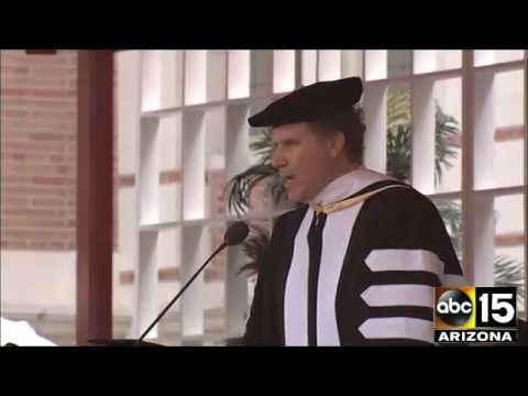 Will Ferrell Delivers Commencement Speech At USC
