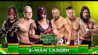 WWE 2K15 - Team Hell No Money In The Bank Match!