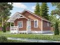 Смета на проект ДБС-033 дом из строганного бруса 6х6 на 34 м2 и 70 м2 от 400 тысяч рублей