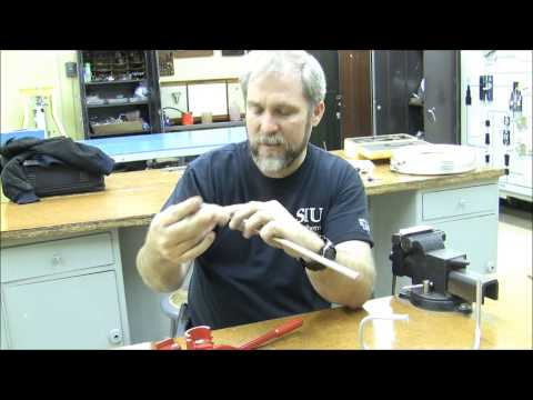 Aviation Tools Training - Bending Aluminum Tube