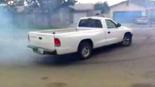 TRUCK DOING DONUTS IN FRONT OF POLICE OFFICERS HOUSE STOCKTON CA