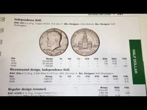 MEDIO DOLAR CONMEMORATIVO 1776-1976 DETALLES Y VALOR $$$$